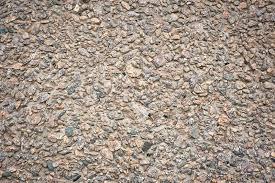 pavimentazione in ghiaia pietra della ghiaia pavimentazione cemento o via della strada