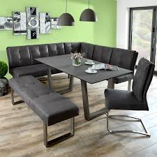 chic corner bench dining room table with additional corner bench