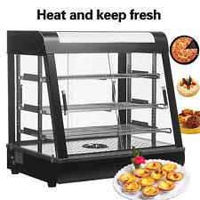 heated display cabinets second hand restaurant food warmer ebay