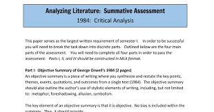 themes about 1984 1984 final assessment google docs