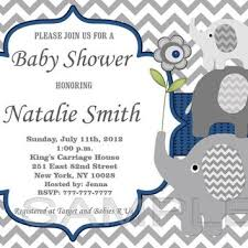 blue elephant baby shower invitations gangcraft net