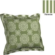 better homes and gardens deep seat pillow back with flange outdoor