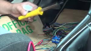 1999 subaru lecagy b4 ecu connector soldering replacement youtube