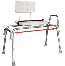 active medical supplies sliding bath transfer bench