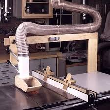 table saw guard plans another interesting table saw blade guard dust collection idea
