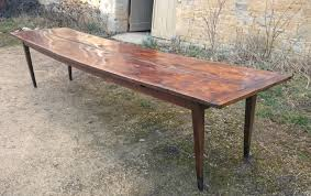 very long antique refectory table hall table c 1840 united