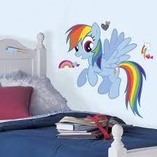 little pony rainbow dash peel stick wall stickers my little pony rainbow dash peel stick wall stickers
