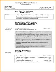 Sample Dietitian Resume by 6 Experienced Nursing Resume Samples Financial Statement Form