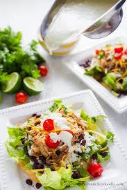 Salad Main Dish - cilantro lime pork tostada salad thirty handmade days