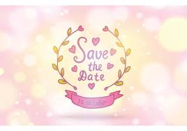 save the date st free save the date vector background free vector