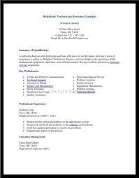 computer technician sample resume skills eliolera com