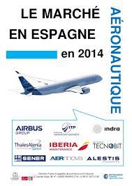 chambre de commerce 91 le marché aéronautique en espagne 2014