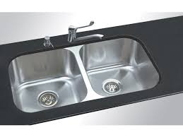 kitchen double sink the undermount kitchen sinks for beautiful your kitchen decor