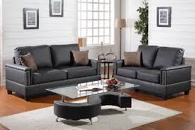 Plush Sofa Bed Poundex Associates Item F7873 Bobkona 2 Pcs Plush Sofa Set