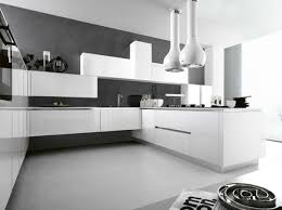 cuisine blanche et mur gris cuisine blanc sur mur gris idées de décoration capreol us