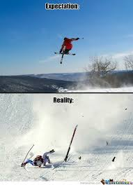 Ski Meme - ski jumps by docterl meme center