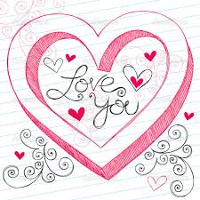 3d i love you drawing i love sketch for you designers out there