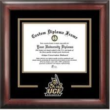 ucf diploma frame of central florida diploma frame rosewood seal black gold