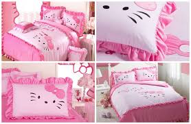 lovely hello kitty bedding sets home designing hello kitty bedding for kids
