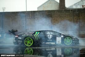 Lamborghini Murcielago Drift Car - behind the scenes of battle drift 2 speedhunters