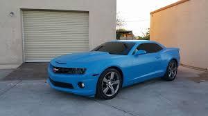 light blue camaro apex customs camaro ss matte light blue plastidip plasti dip your
