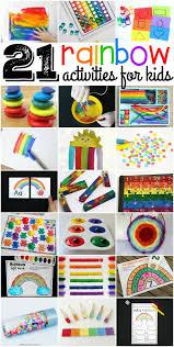 rainbow in a bag no mess art