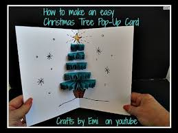 diy 3d easy pop up tree card how to make a greeting