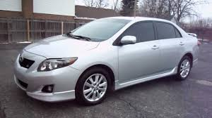 toyota s 2009 toyota corolla s with 52 298 miles youtube