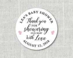 Stickers For Favors by Baby Shower Stickers Etsy