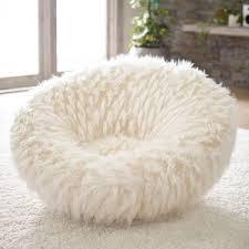 pb teen llama faux fur groovey swivel chair pbteen polyvore