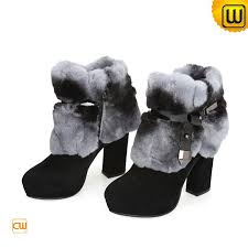 s boots with fur s fur trimmed boots mount mercy