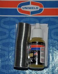 uni kit uni 4300 uniweld p4kd9 solder kit