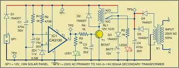 simple hybrid solar charger circuit diagram lekule blog