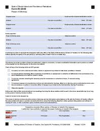 Pa Power Of Attorney Form Free by Rhode Island Minor Child Power Of Attorney Form Power Of
