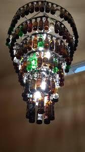 beer bottle light fixture good beer bottle light fixture or six tier beer bottle chandelier 93