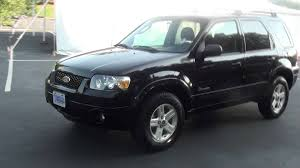 06 ford escape for sale 2006 ford escape hybrid 31 36 mpg 1 owner