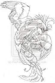 sketches for phoenix tattoo sketches www sketchesxo com