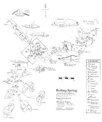 missouri caves map boiling on the big piney cave survey