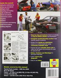 toyota prado automotive repair manual 1996 to 2009 haynes