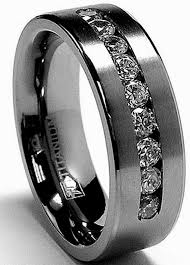black wedding bands black wedding rings his and hers wedding bands