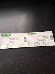 kings of leon tickets sheffield arena in hull east yorkshire