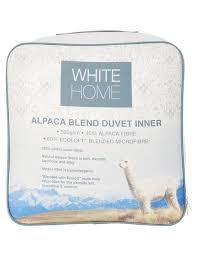 Alpaca Duvet White Home Alpaca Blend Duvet Inner White Home