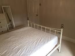 great condition u0027wrought iron style u0027 king size bed frame in