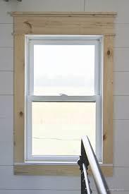 How To Paint Interior Windows Best 25 Interior Window Trim Ideas On Pinterest Window Casing