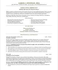Example Secretary Resume Pretentious Executive Secretary Resume 12 Executive Secretary
