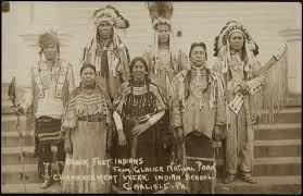 indians at the first thanksgiving carlisle indian digital resource center