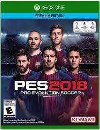 amazon com pro evolution soccer 2018 xbox one video games
