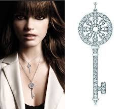 key pendant necklace silver images Buy classic key pendant t brand micro synthetic jpg