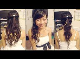 farewell hairstyles 3 elegant homecoming hairstyles youtube