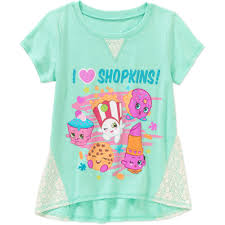 shopkins halloween background shopkins girls u0027 i heart shopkins crochet panel graphic top